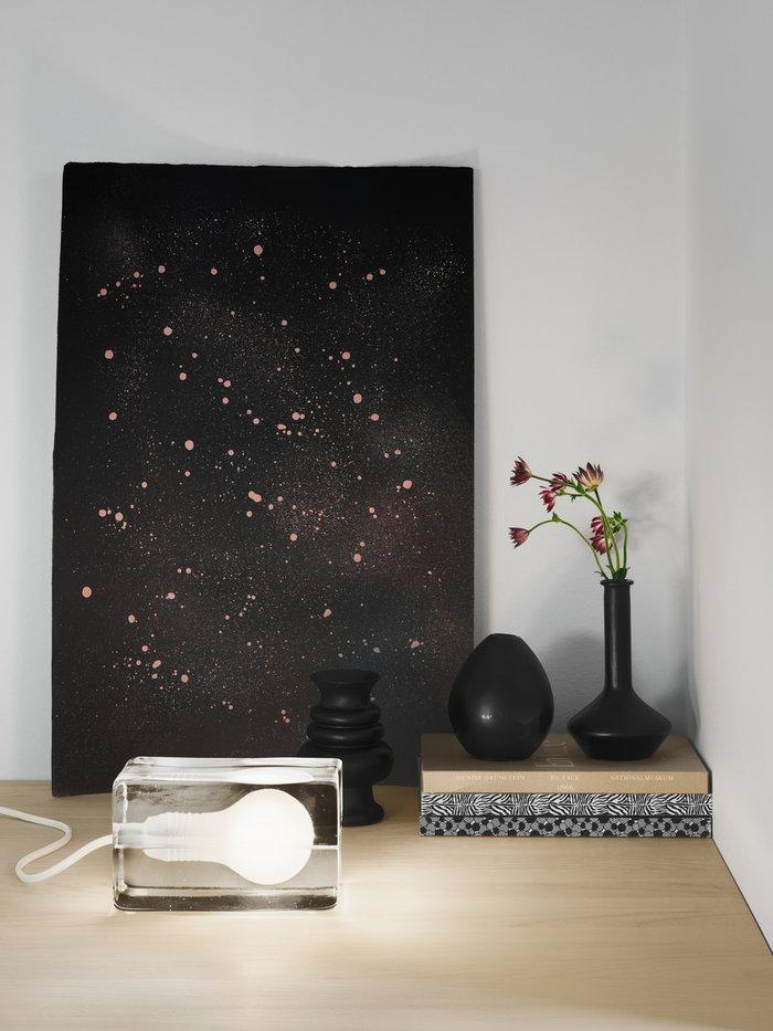 Viherkasvit Sisustusyksityiskohta Design House Stockholm Kirkas Lasi Block Lamp