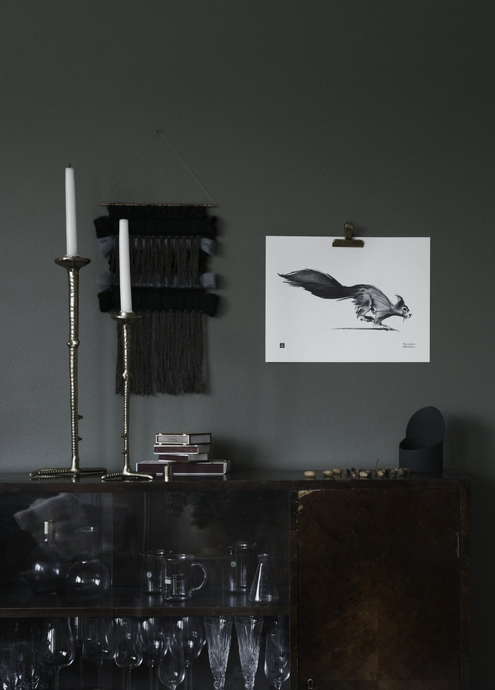 Dettaglioarredamento Candele Poster Inverno Teemu Järvi Illustrations Bianco Carta Poster
