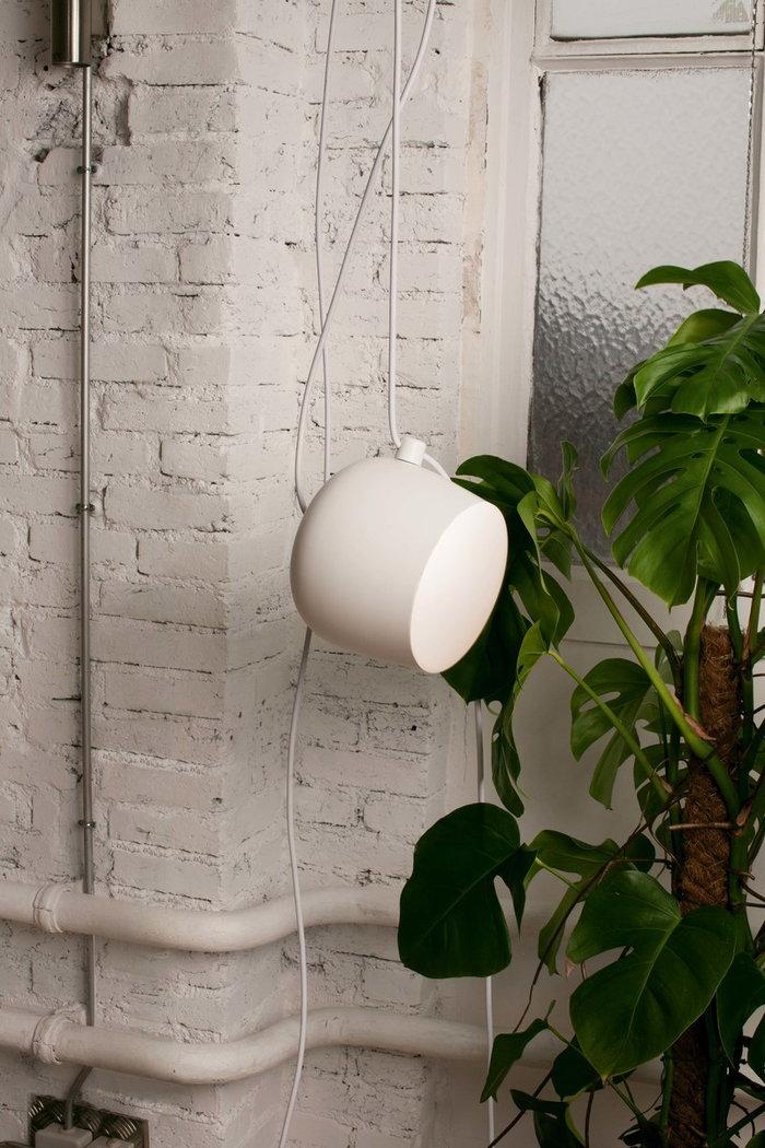 Viherkasvit Flos Valkoinen Musta Alumiini