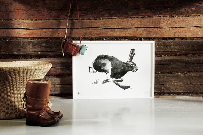 Dettaglioarredamento Poster Inverno Sokeva-Käsityö Teemu Järvi Illustrations Nero Carta