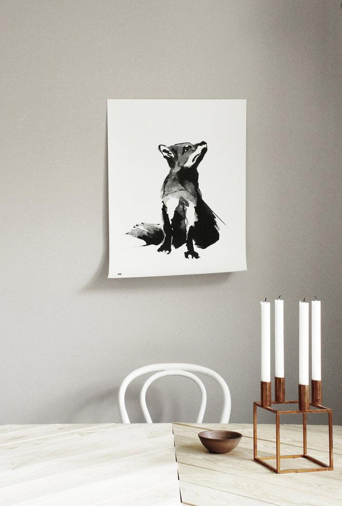 Candles Posters By Lassen Teemu Järvi Illustrations Copper Black Paper Kubus