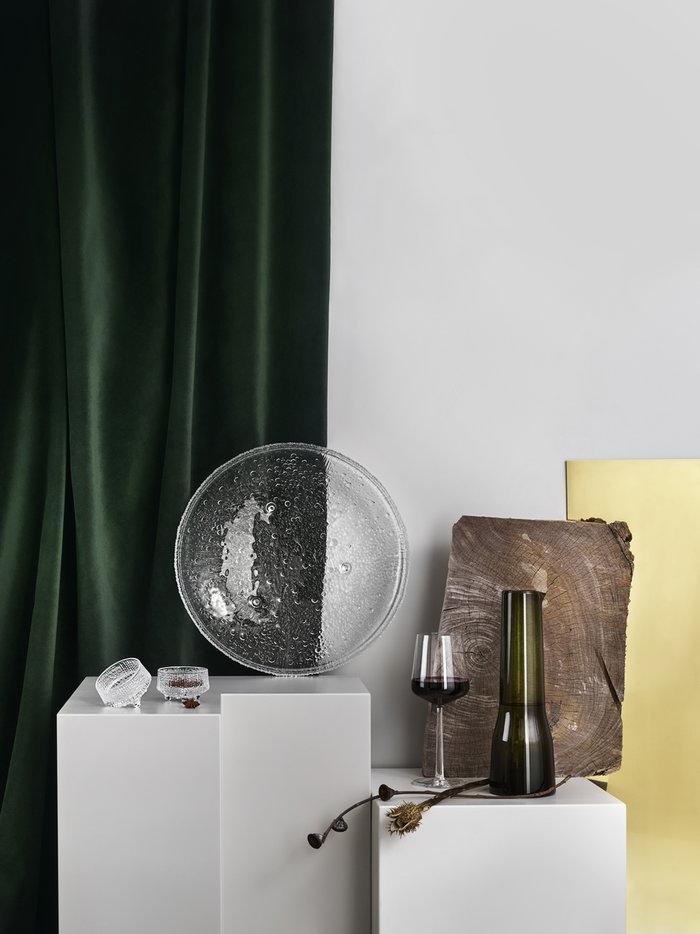 Kattaus Iittala Kirkas Vihreä Lasi Ultima Thule Essence
