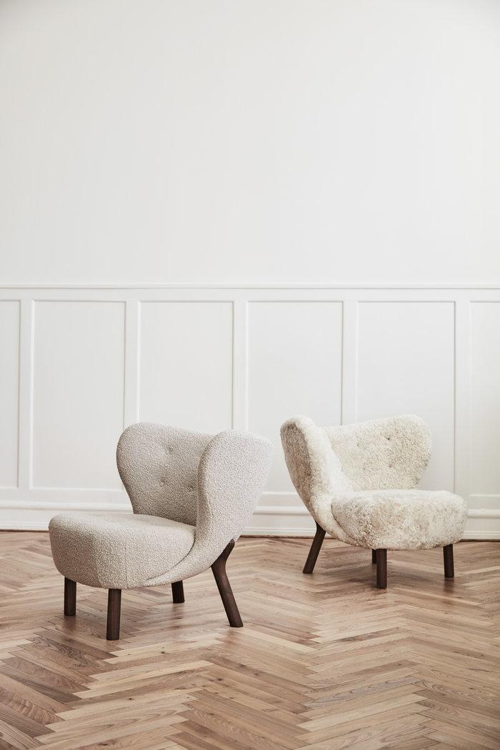 Livingroom &Tradition Grey Wood