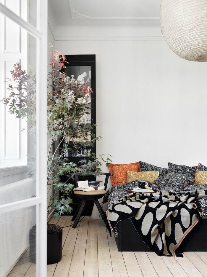 Bedroom Artek Marimekko Black Orange Birch Cotton Ceramic Rival