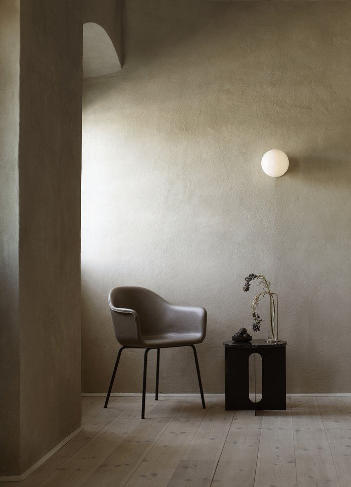 Livingroom Readingcorner Menu Black Grey Steel Marble