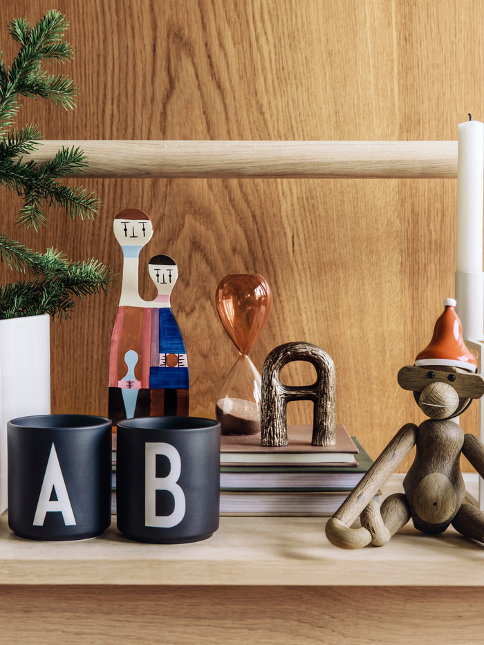 Holidays Vitra Nedre Foss Design Letters Hay Kay Bojesen Multi colour Bronze Black Red Wood Copper Ceramic Glass Wooden objects
