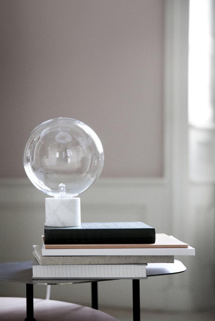 Työpisteet Lukunurkka &Tradition Valkoinen Musta Marmori Marble Light