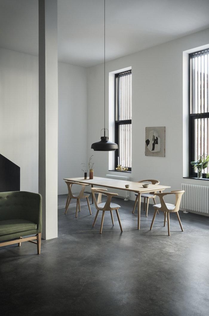 Kitchen Diningroom &Tradition Black Grey White Oak Copenhagen Mayor In Between