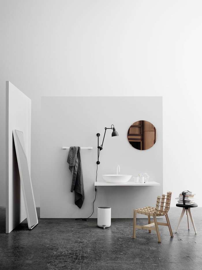 Bathroom Menu White Steel Aluminium