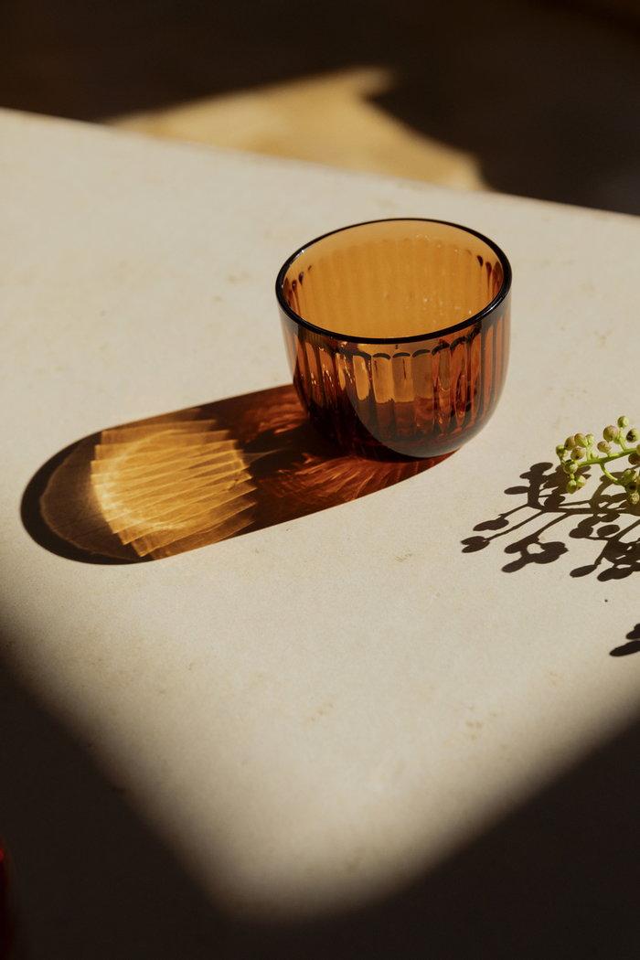 Tablesetting Candles Iittala Orange Glass
