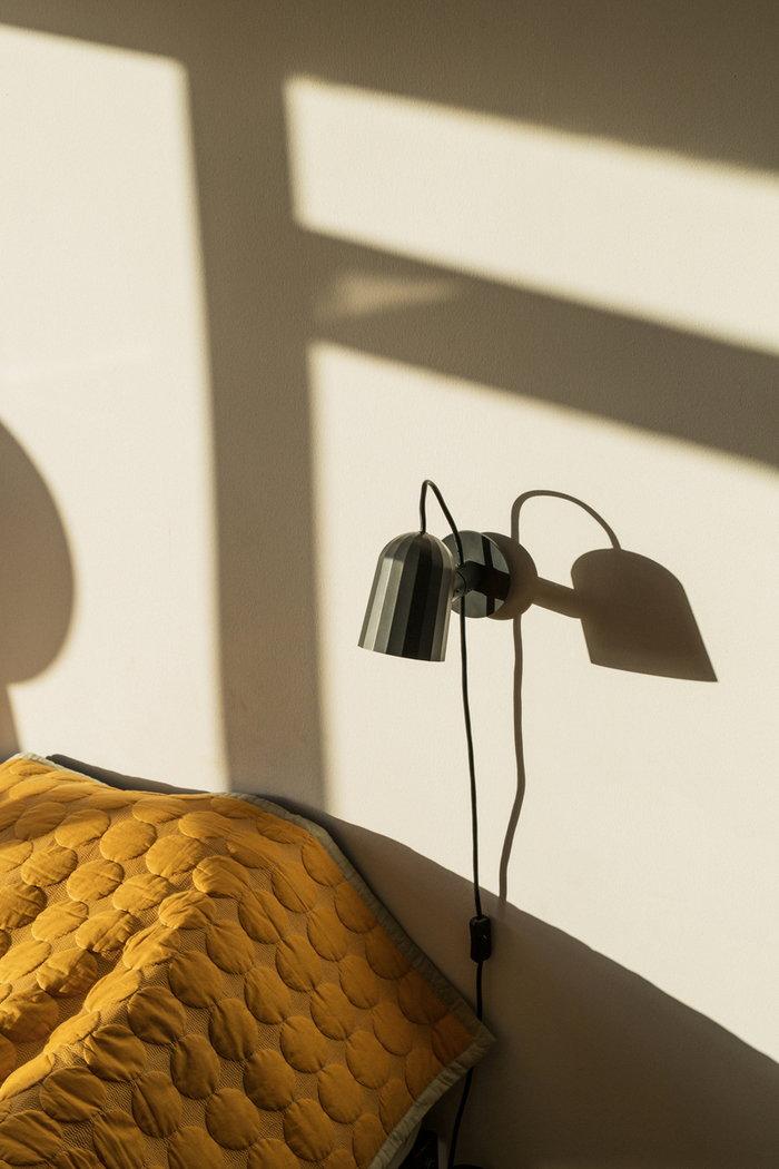 Details Bedroom Hay Yellow Black Aluminium Mega Dot Noc