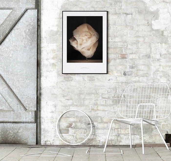 Dettaglioarredamento Poster Menu Paper Collective Bianco Beige Metallo Carta Poster