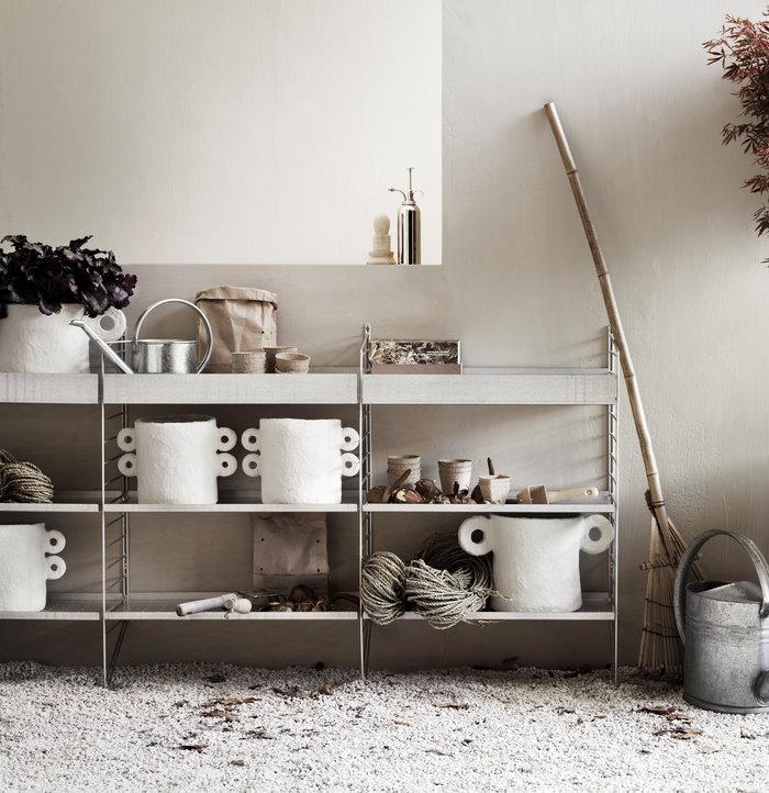 Säilytys Ulkokalusteet Terassi String Furniture Metalli Teräs