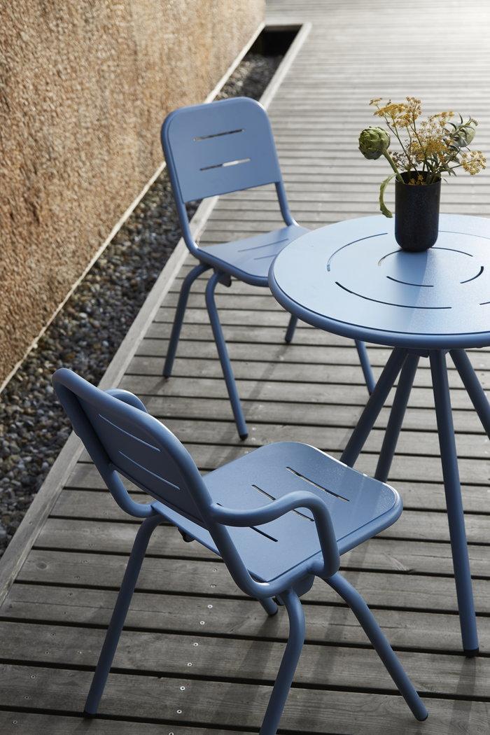 Mobiliperesterno Terrazzo  Woud Blu Alluminio