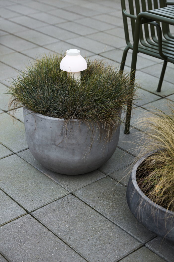 Outdoorfurniture Terrace HAY White Plastic