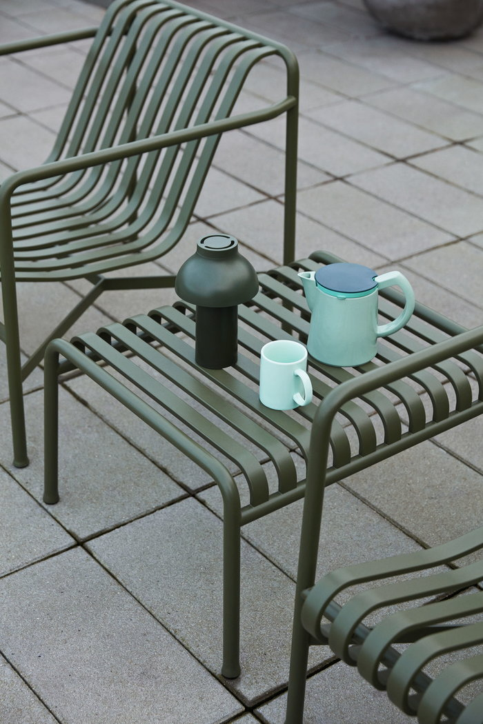 Outdoorfurniture Terrace Hay Green Turquoise Mint green Plastic Ceramic Metal