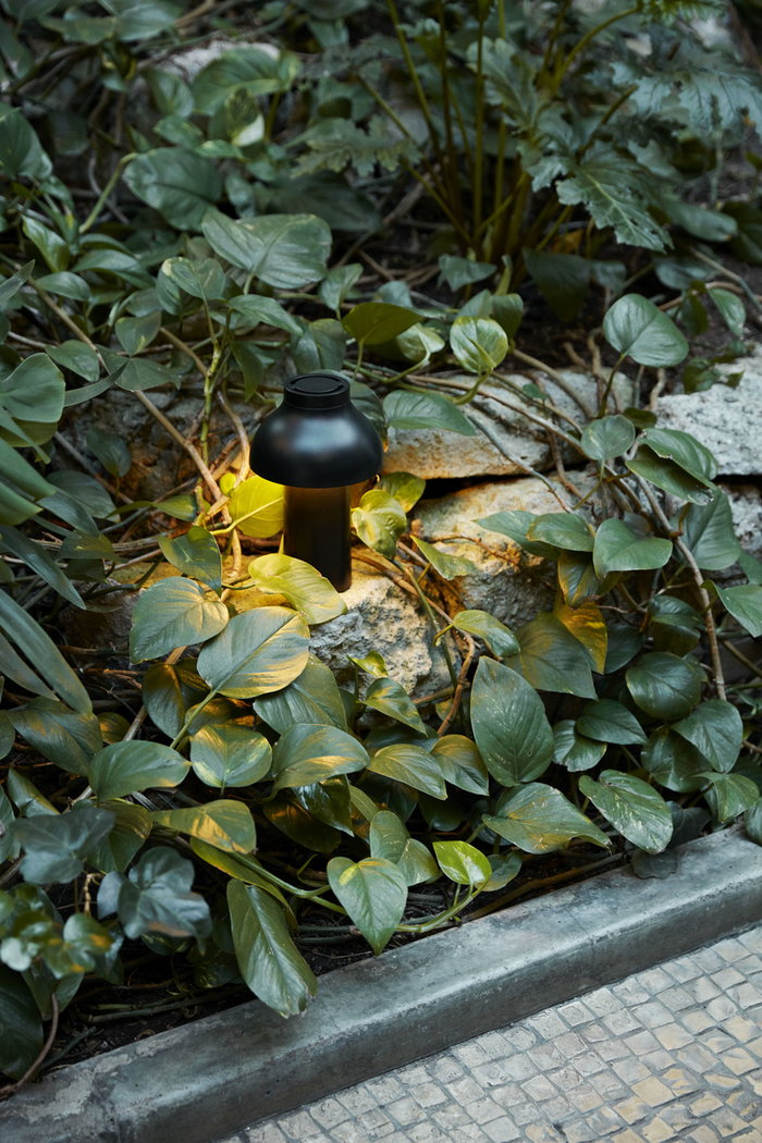 Houseplants Outdoorfurniture Terrace HAY Black Plastic