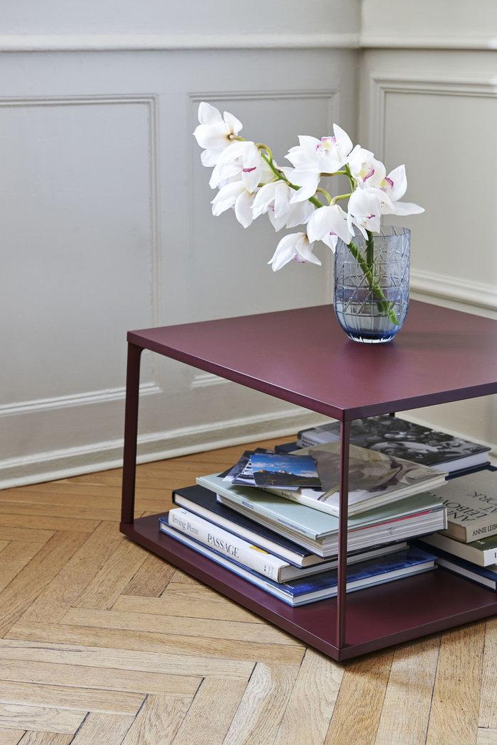 Livingroom Storage HAY Blue Red Glass Metal