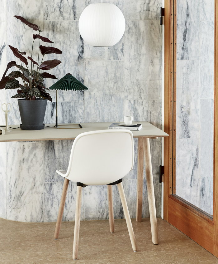 Office Houseplants Hay Green Black White Metal Plastic Oak Copenhague