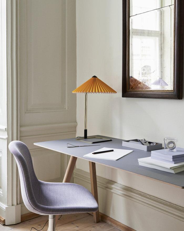 Office HAY Yellow Grey Metal Oak Copenhague