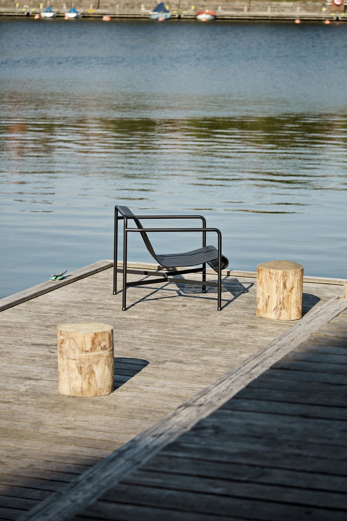 Outdoorfurniture HAY Grey Metal