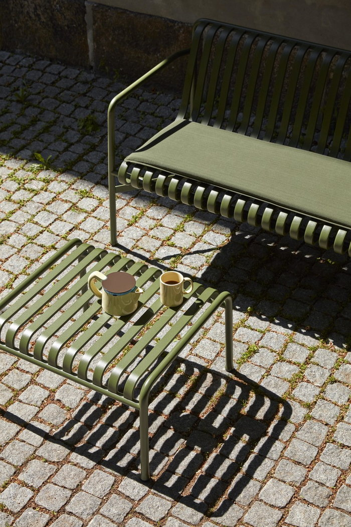 Outdoorfurniture HAY Green Cotton Metal