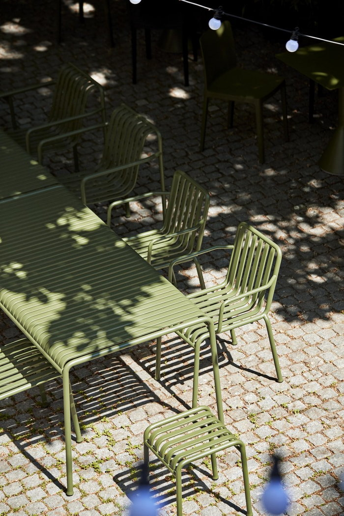 Outdoorfurniture HAY Green Metal