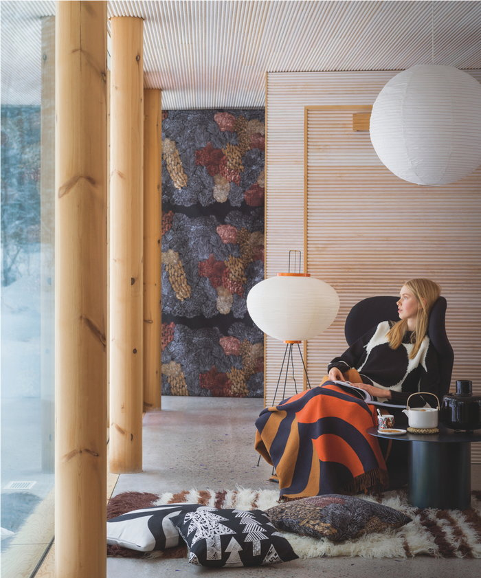Teamoment Readingcorner Holidays Vitra Marimekko White Multi colour Black Brown Paper Ceramic Cotton Glass Wool Oiva