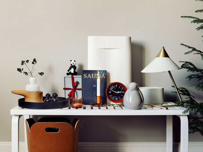 Holidays Candles Lundia Marimekko Muuto Normann Copenhagen Kay Bojesen Warm Nordic Grey White Orange Black Pine Glass Felt Ceramic Birch Beech Metal System Restore