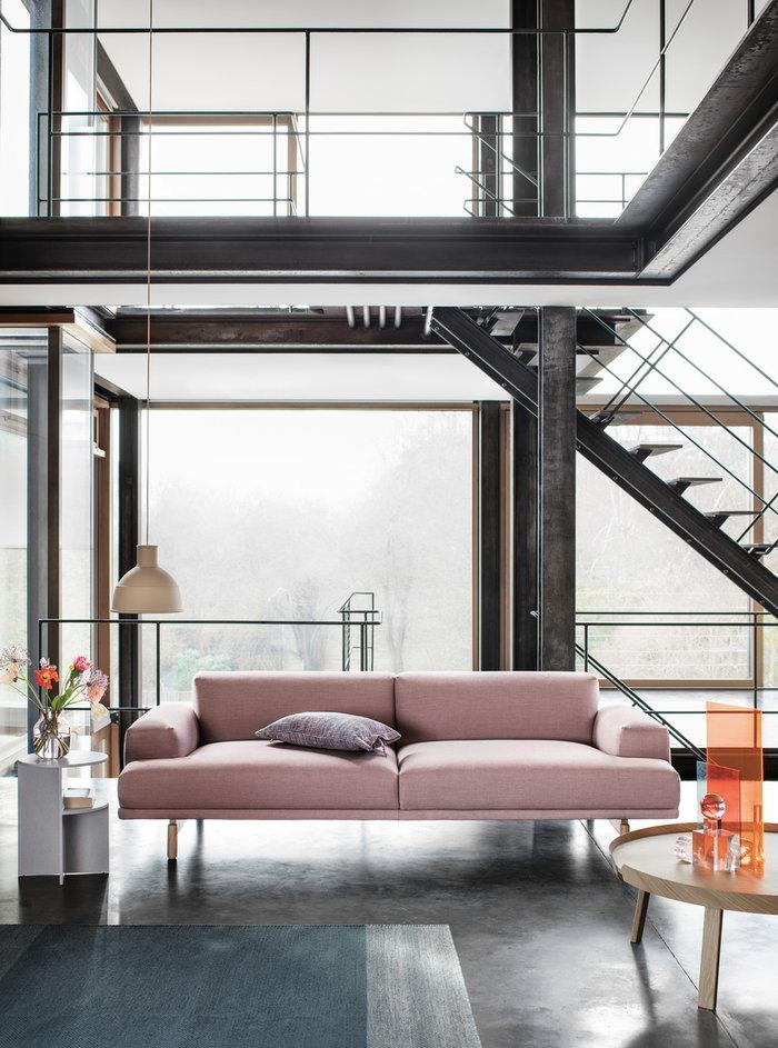 Livingroom Houseplants Muuto Beige Light red Blue Nature Grey Glass Ash Wood Unfold Silent Varjo Around