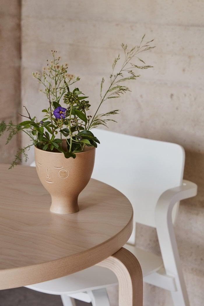 Piante Dettaglioarredamento Artek Bianco Beige Legno Ceramica