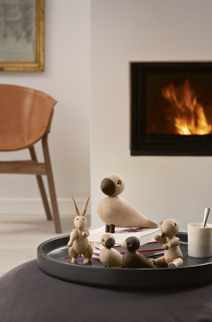 Details Fireplace Kay Bojesen Nature Oak Wooden objects