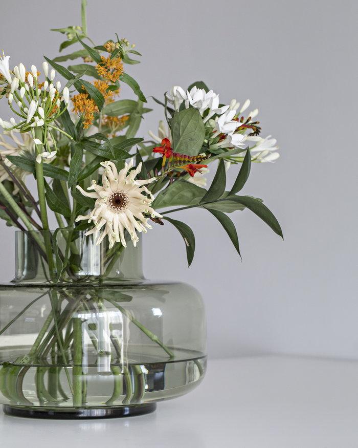 Houseplants Details Marimekko Green Glass