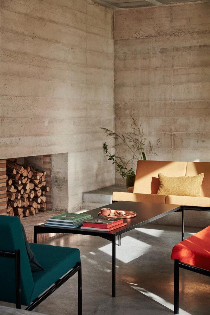 Livingroom Fireplace Artek Black Steel Kivi