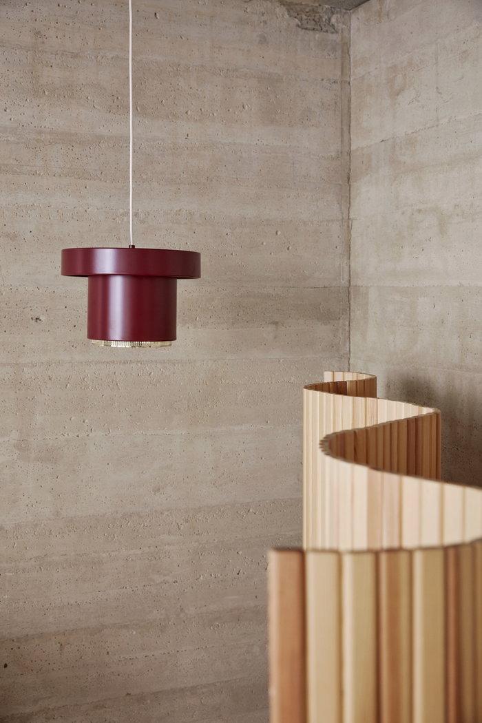 Dettaglioarredamento Artek Rosso Naturale Acciaio Pino Altri mobili Aalto