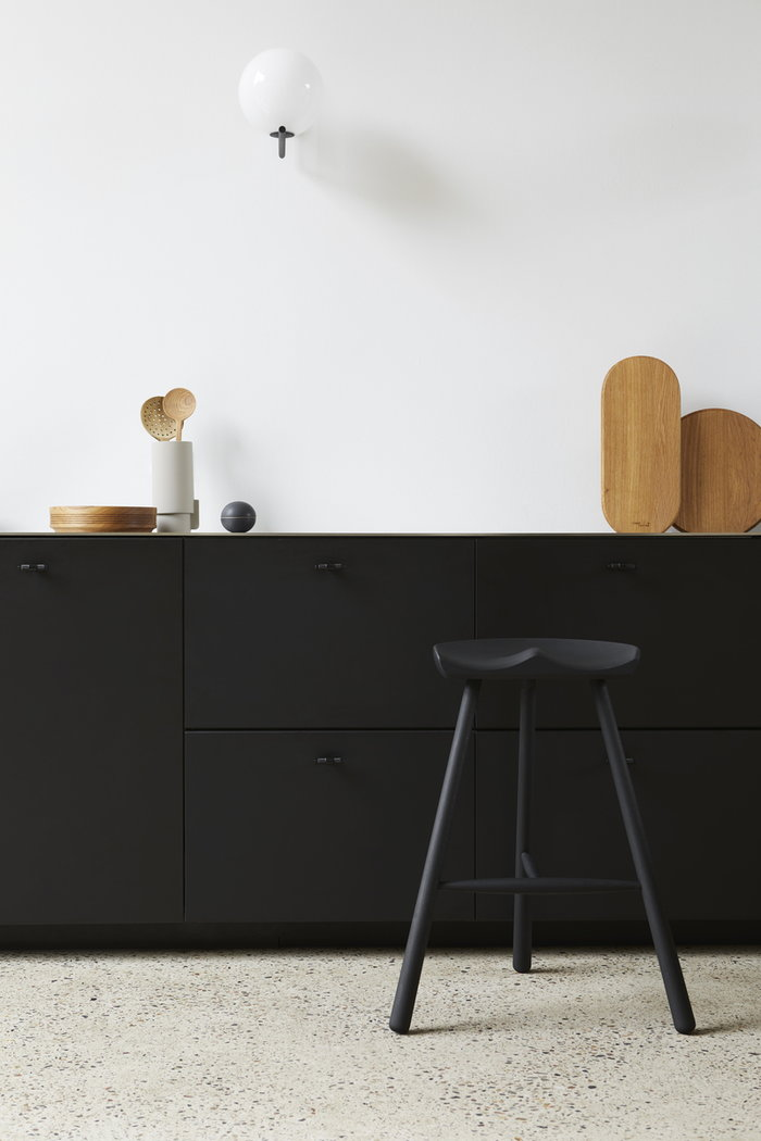 Cucina Form & Refine Grigio Naturale Nero Ceramica Rovete Faggio