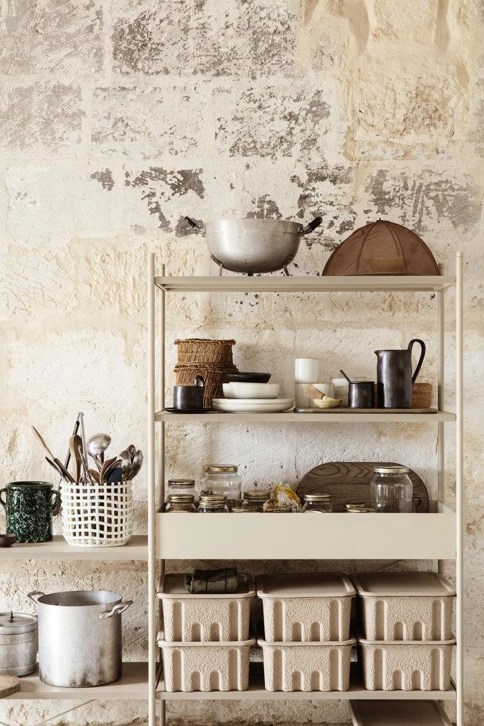 Cucina Gestionespazio Ferm Living Verde Marrone Bianco Giallo Nero Carta Ceramica