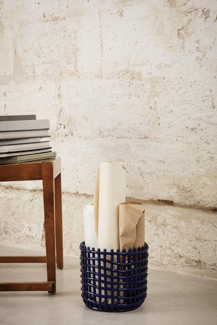 Gestionespazio Dettaglioarredamento Ferm Living Blu Ceramica
