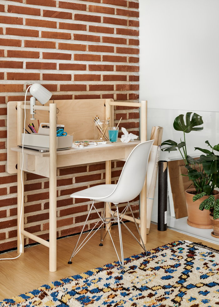 Office Vitra Made by Choice Hay White Nature Steel Birch Aluminium Eames DSR Noc