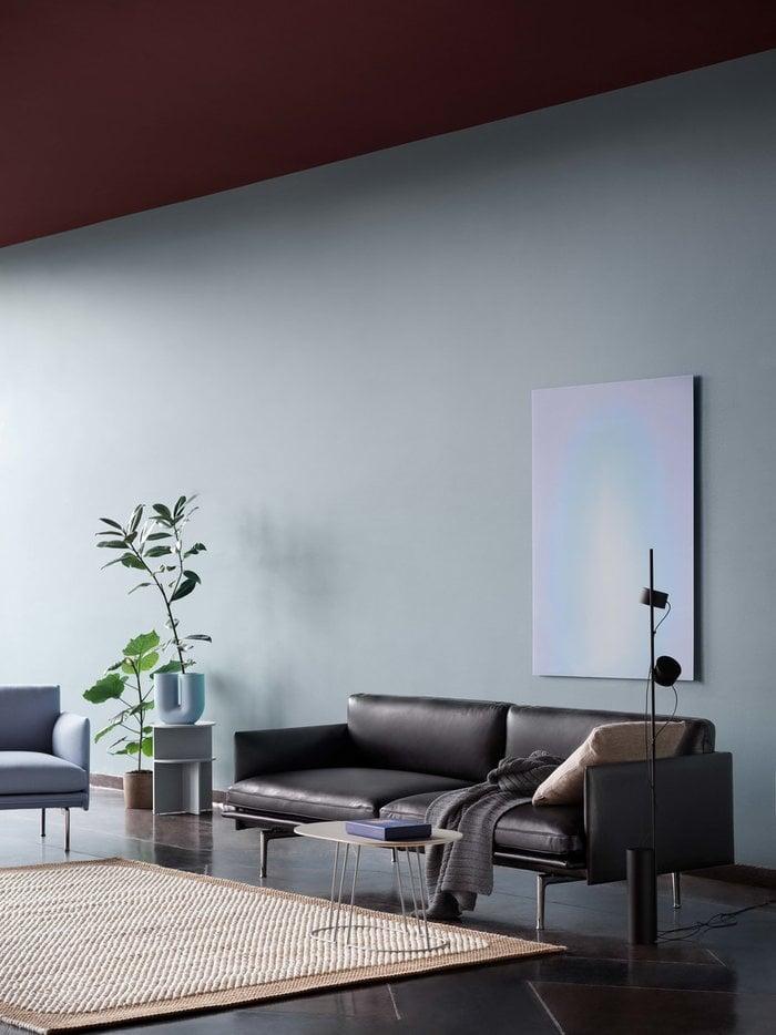 Livingroom Houseplants  Muuto Orange Blue White Black Grey Wool Ceramic Metal Composite Airy
