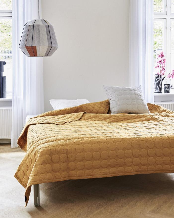 Makuuhuone HAY Harmaa Keltainen Luonnonväri Puuvilla Villa