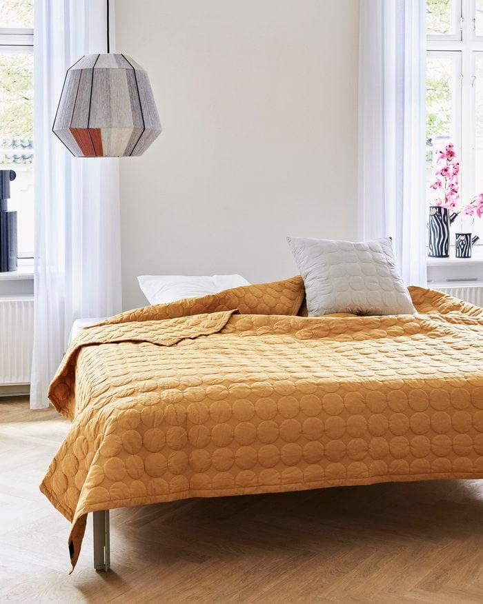 Bedroom Hay Grey Yellow Nature Cotton Wool