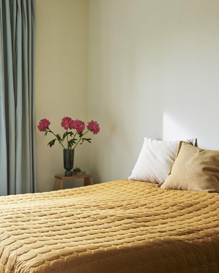 Makuuhuone HAY Sininen Keltainen Lasi Puuvilla