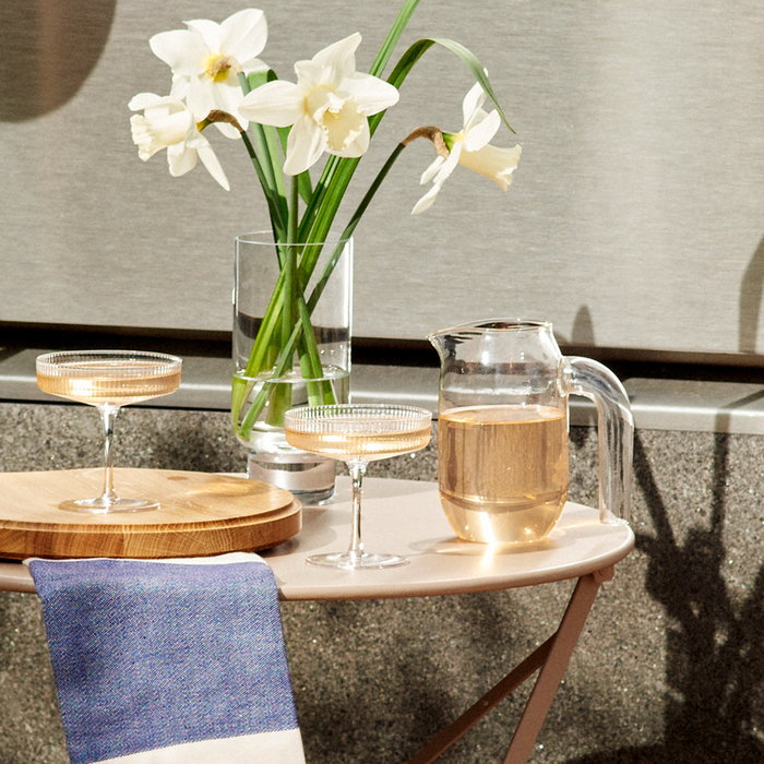 Summer2020 Form & Refine Ferm Living Fermob Hay Karakter Skagerak Nature Beige Clear Blue Oak Glass Steel Cotton
