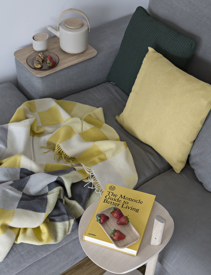 Teamoment Readingcorner  Cane-line Form & Refine Gestalten Iittala Marimekko Muuto Silkeborg Uldspinderi Stelton Green Nature Multi colour Beige Yellow White Plastic Oak Paper Glass Wood Wool Ceramic Oiva Theo
