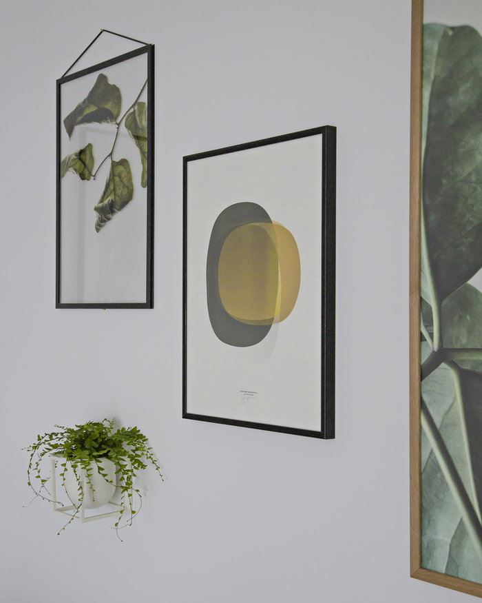 Houseplants Details By Lassen Paper Collective White Yellow Metal