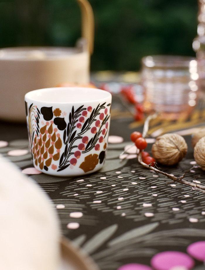 Tablesetting Autumn Marimekko Multi colour Cotton Ceramic