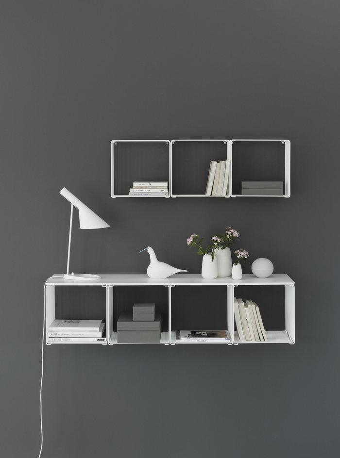 Gestionespazio  Louis Poulsen Montana Furniture Bianco Acciaio Legno AJ