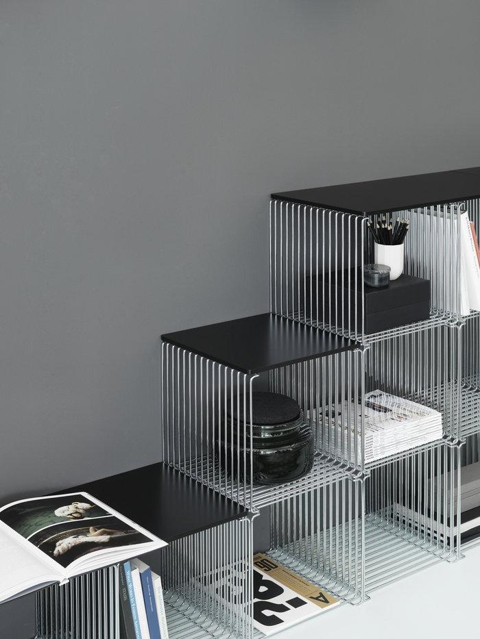 Säilytys Olohuone Montana Furniture Metalli Teräs