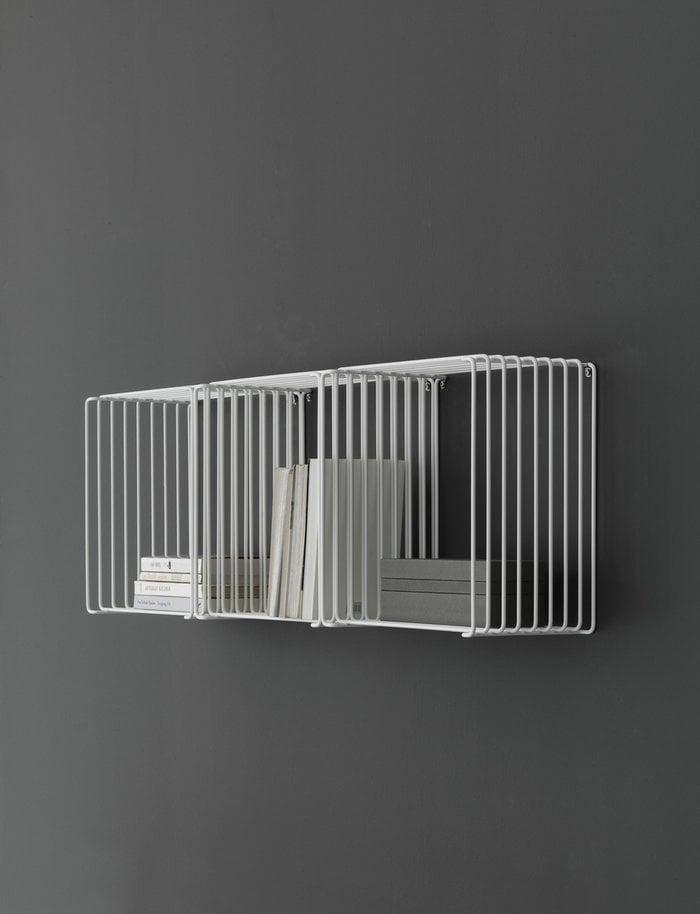 Gestionespazio Montana Furniture Bianco Acciaio